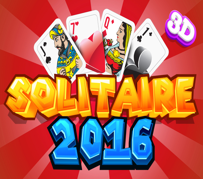 The aim Solitaire is to make 4 piles of cards on the top rights hand corner